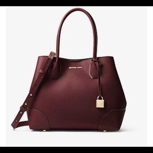 NWT Michael Kors Mercer Gallery Medium Leather Bag